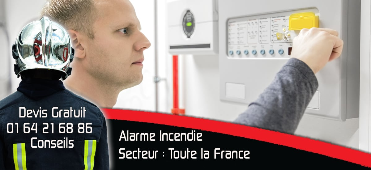 Alarme Incendie pour Agence Immobiliere - Protection Incendie