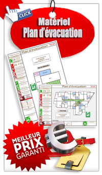Catalogue Plan évacuation