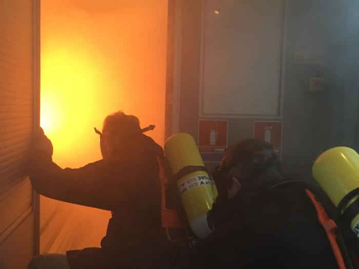 Exercice Anti-Incendie Formation intervention sur feu