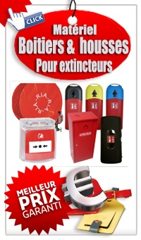Catalogue Boitiers &  housses de protection extincteur