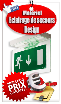 Catalogue Eclairage de secours design